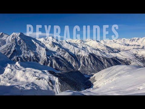 1ère session ski de la saison à Peyragudes - 4K