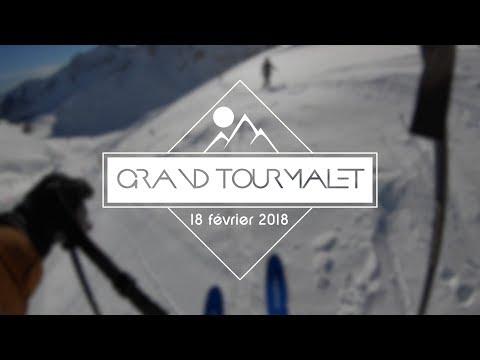 Petite session ski au Grand Tourmalet (4K 60fps)