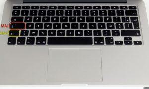 Mac OS X : comment taper des chiffres avec la touche MAJ
