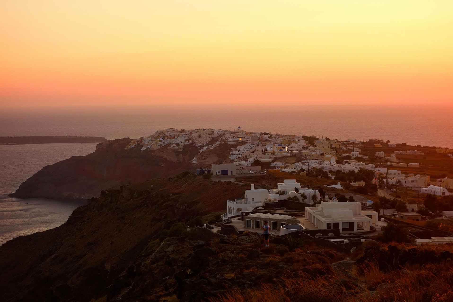 Santorin, la merveille des Cyclades