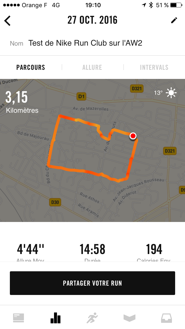 comprar nuevo información para envío gratis Nike+ Run Club test on the Apple Watch Series 2 | The Geek ...