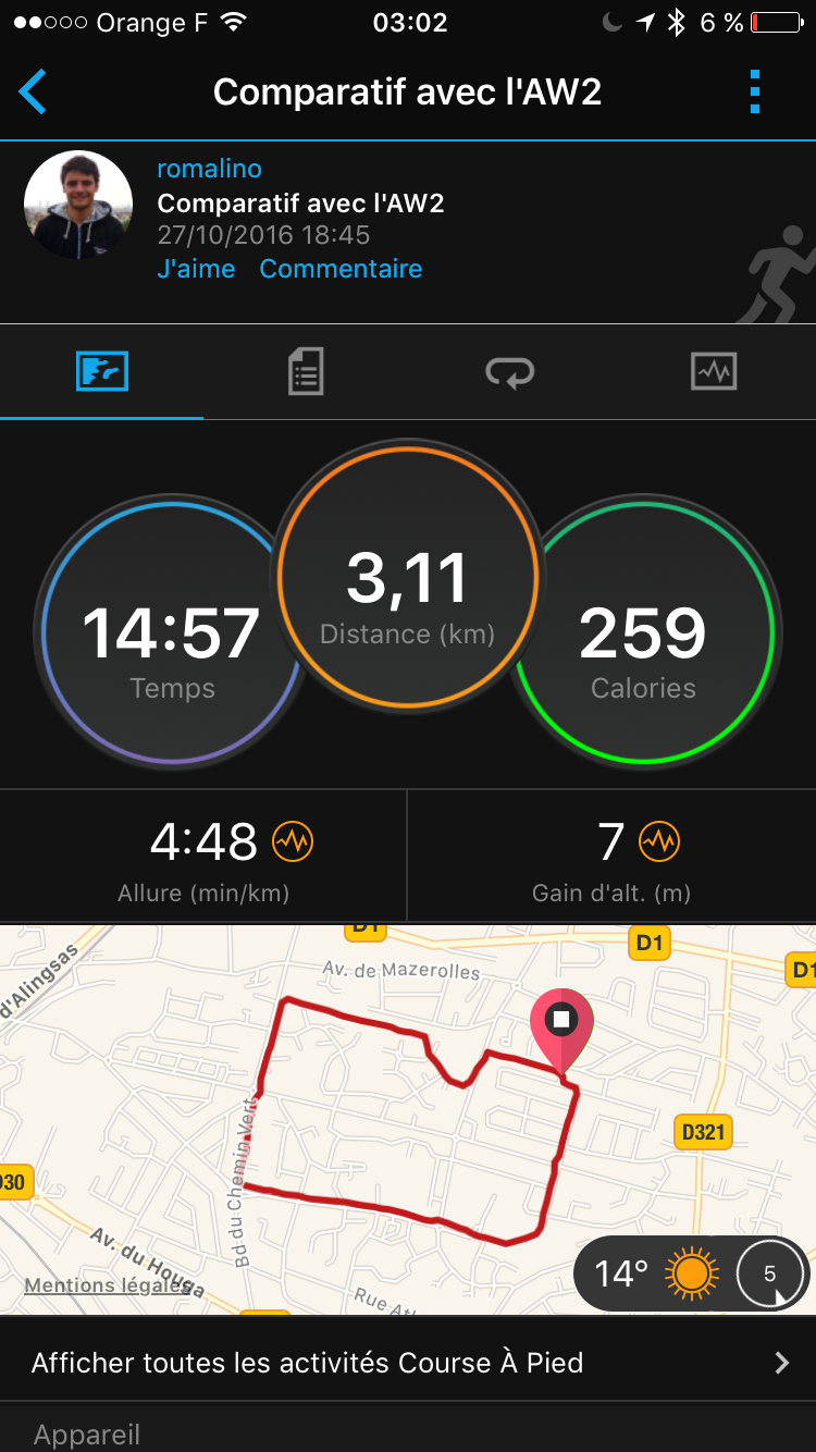 chaussures de sport af5ed 136f0 Nike+ Run Club test on the Apple Watch Series 2 | The Geek ...