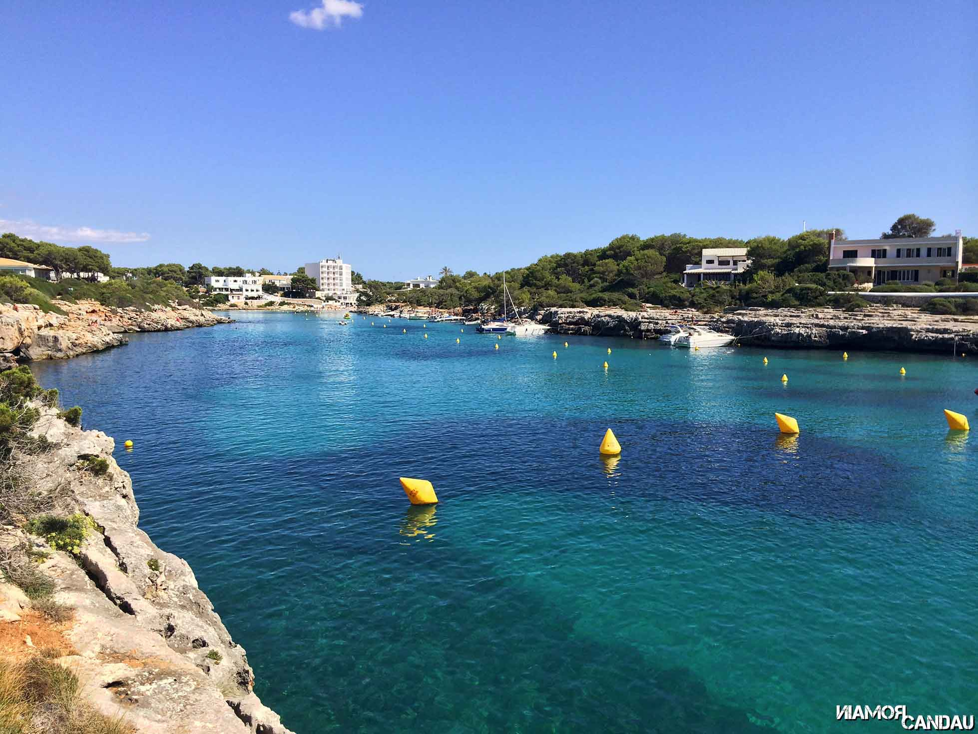 Cala Santandria, Menorca