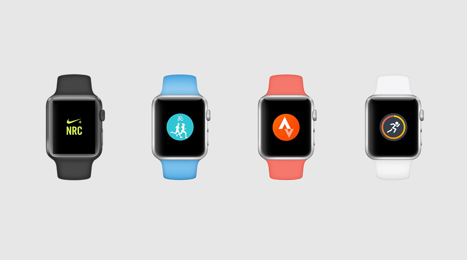 Comparatif des applications pour courir avec l'Apple Watch