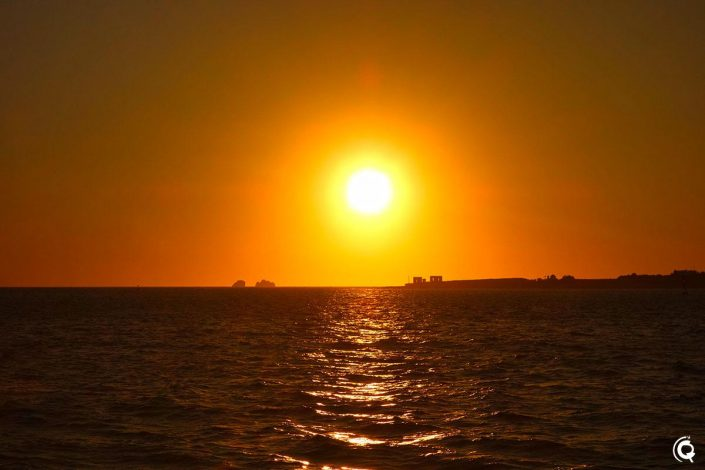 Coucher de soleil à Parikiá