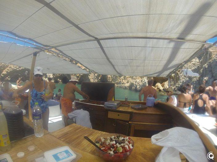 Croisière avec Captain Yiannis à Paros