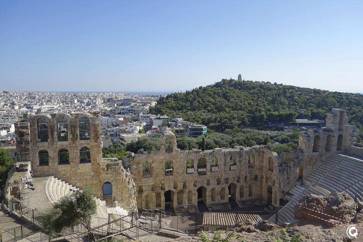 L'Odéon d'Hérode Atticus à Athènes