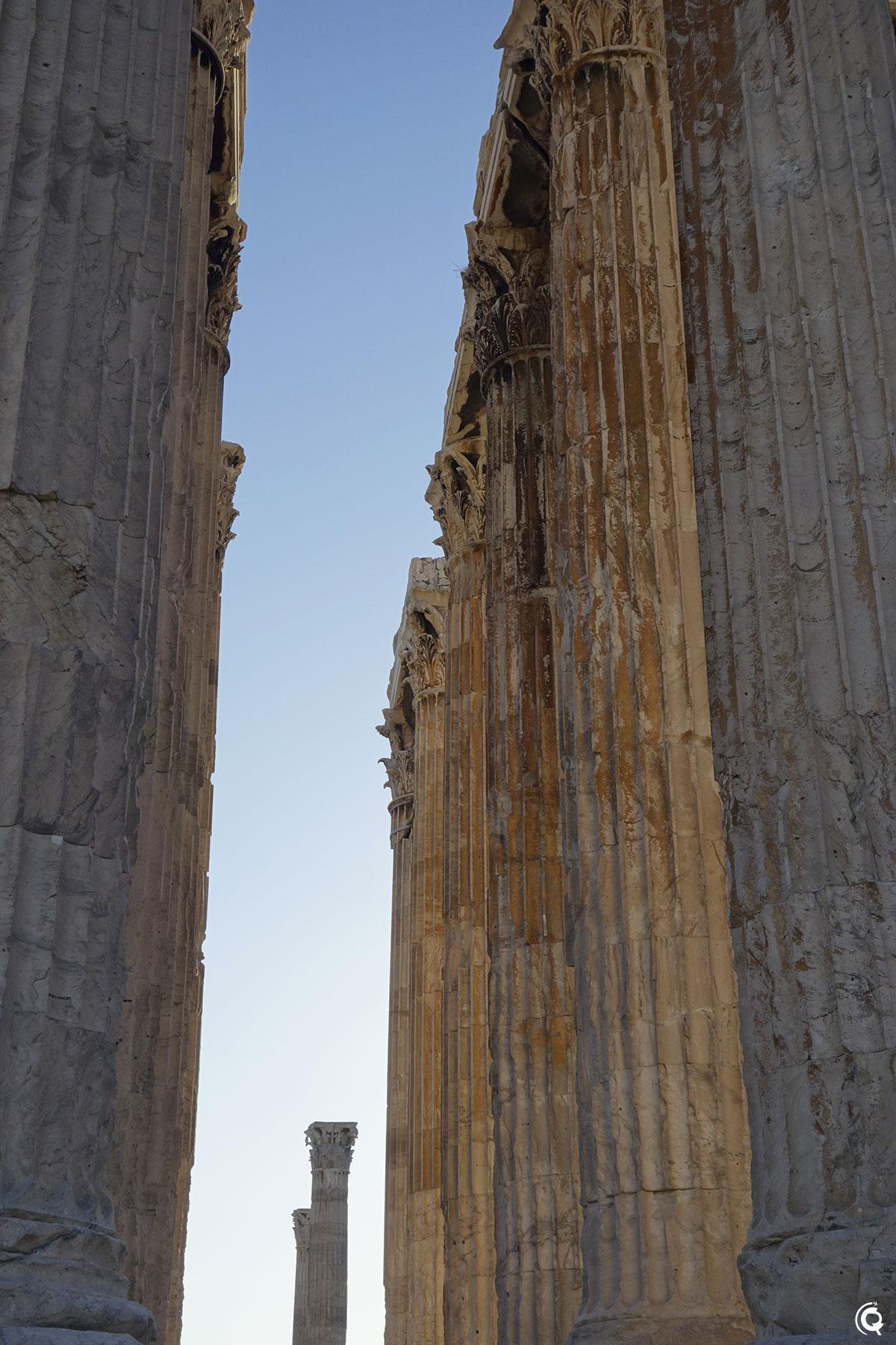 L'Olympiéion à Athènes
