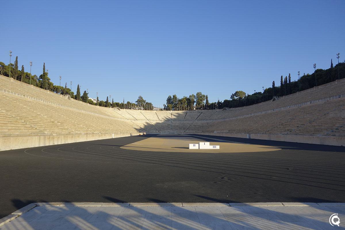 Le Stade panathénaïque à Athènes