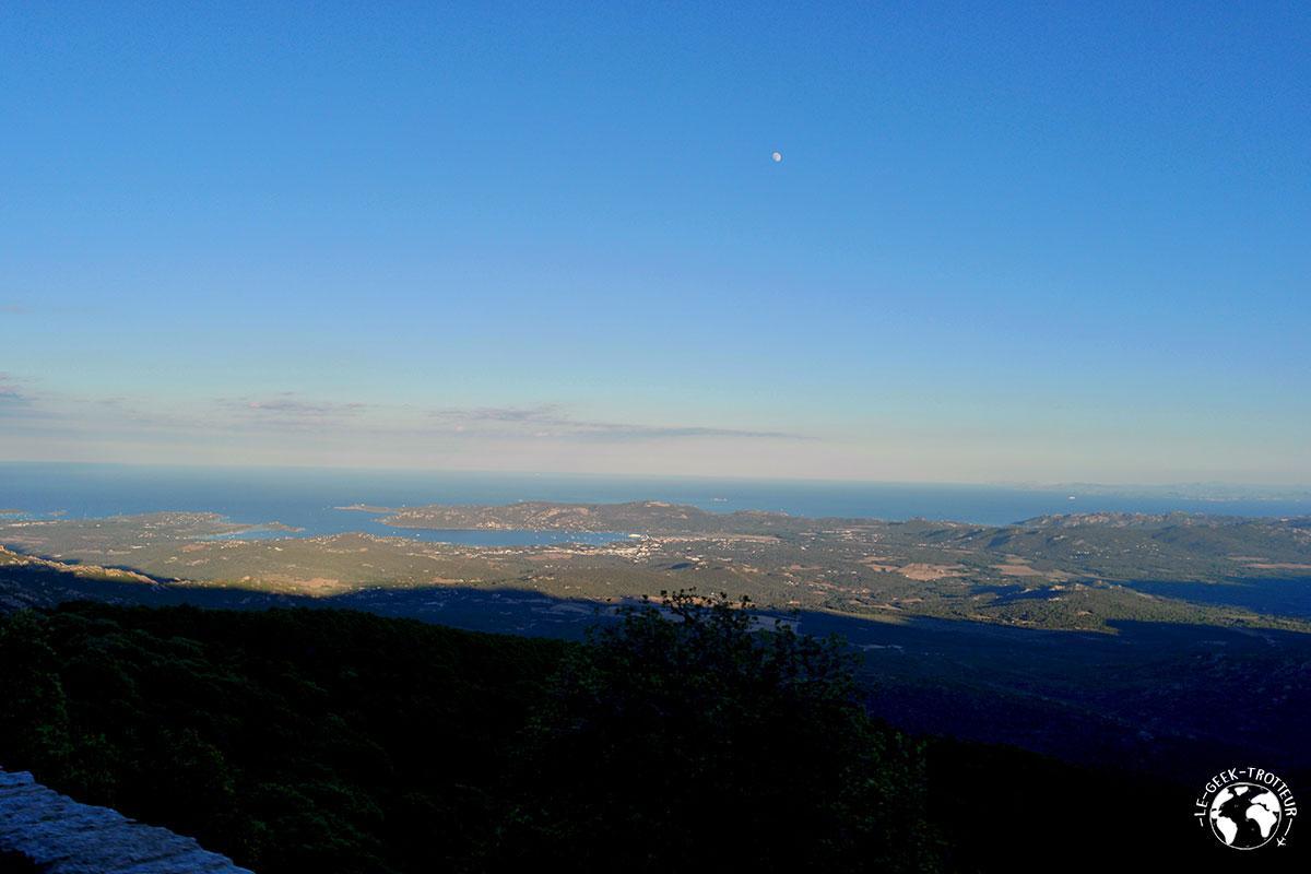 Belle vue sur l'est de la Corse