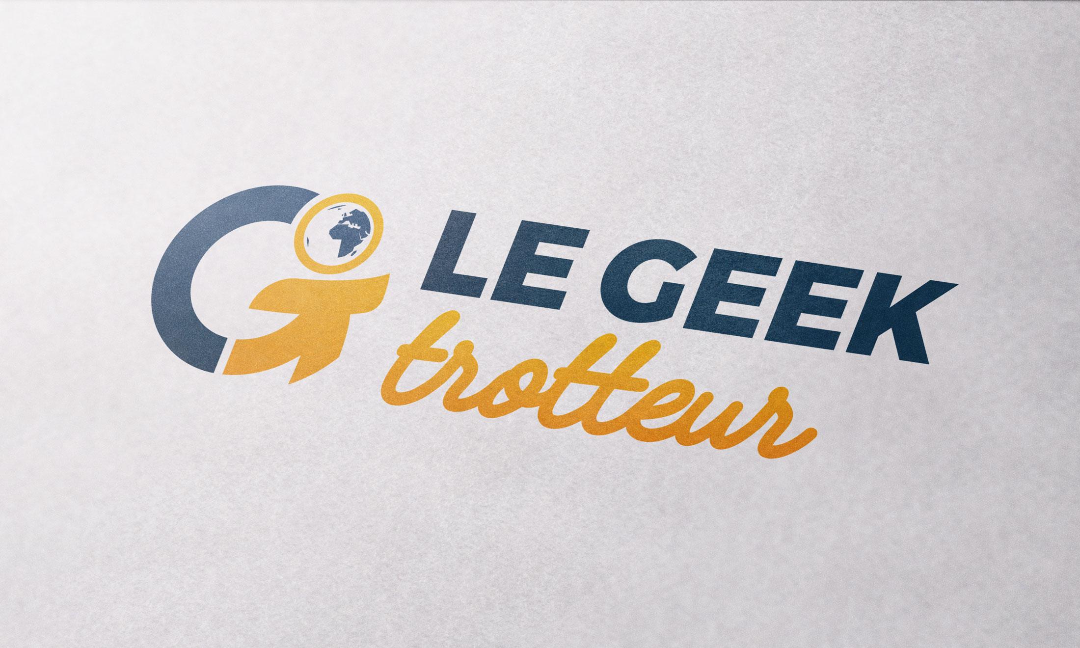 Logo Le Geek Trotteur