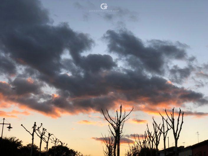 Photo prise à l'iPhone X