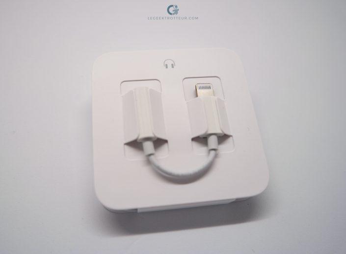 Adaptateur Jack / Lightning Apple