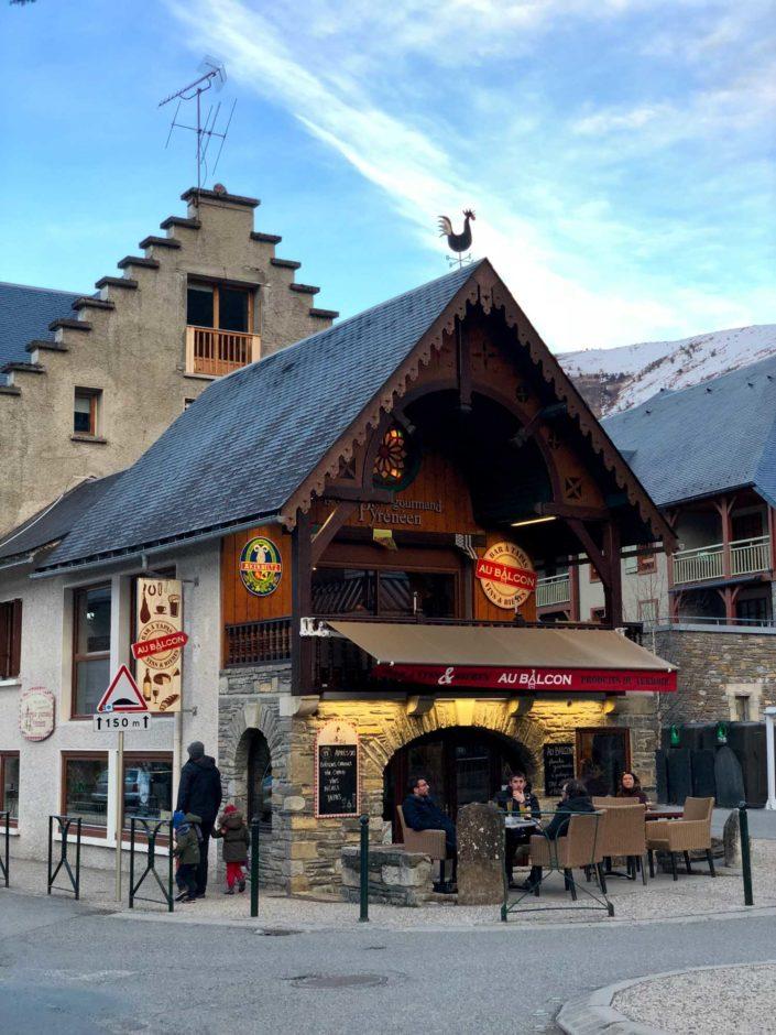 Le village de Saint-Lary-Soulan