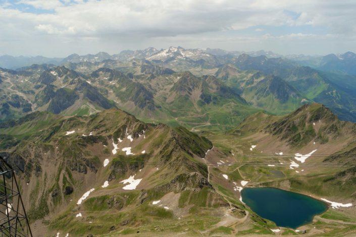 Vue depuis le Pic du Midi de Bigorre