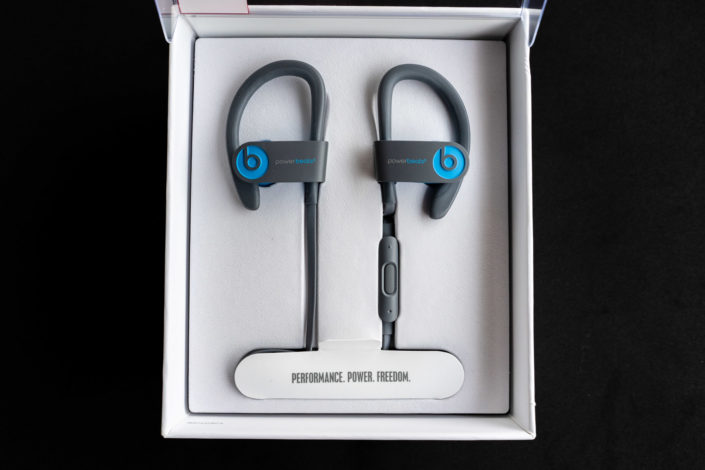 Packaging écouteurs Powerbeats3 Wireless