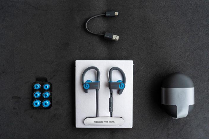 Packaging écouteurs Powerbeats3 Wireless