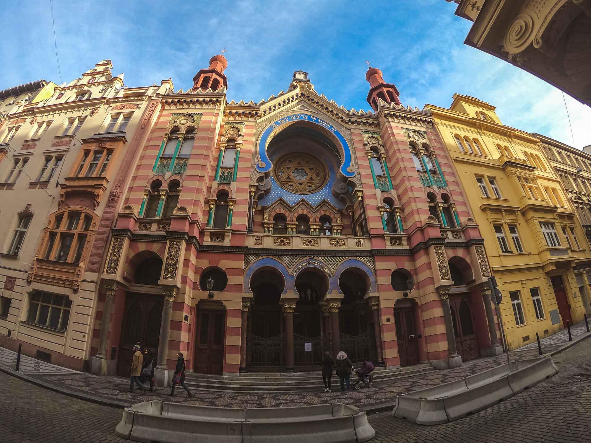 La surprenante Synagogue du Jubilée à Prague