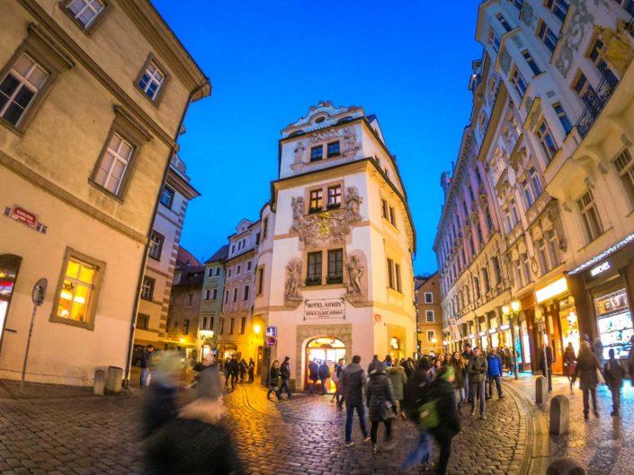 Les ruelles de la Vieille Ville de Prague
