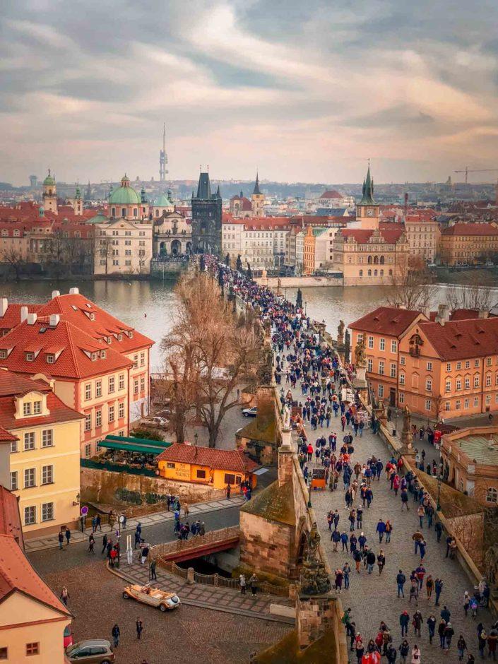 Le pont Charles à Prague