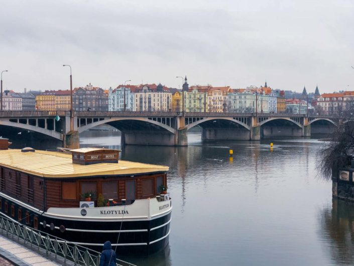 Jiráskův most, Prague