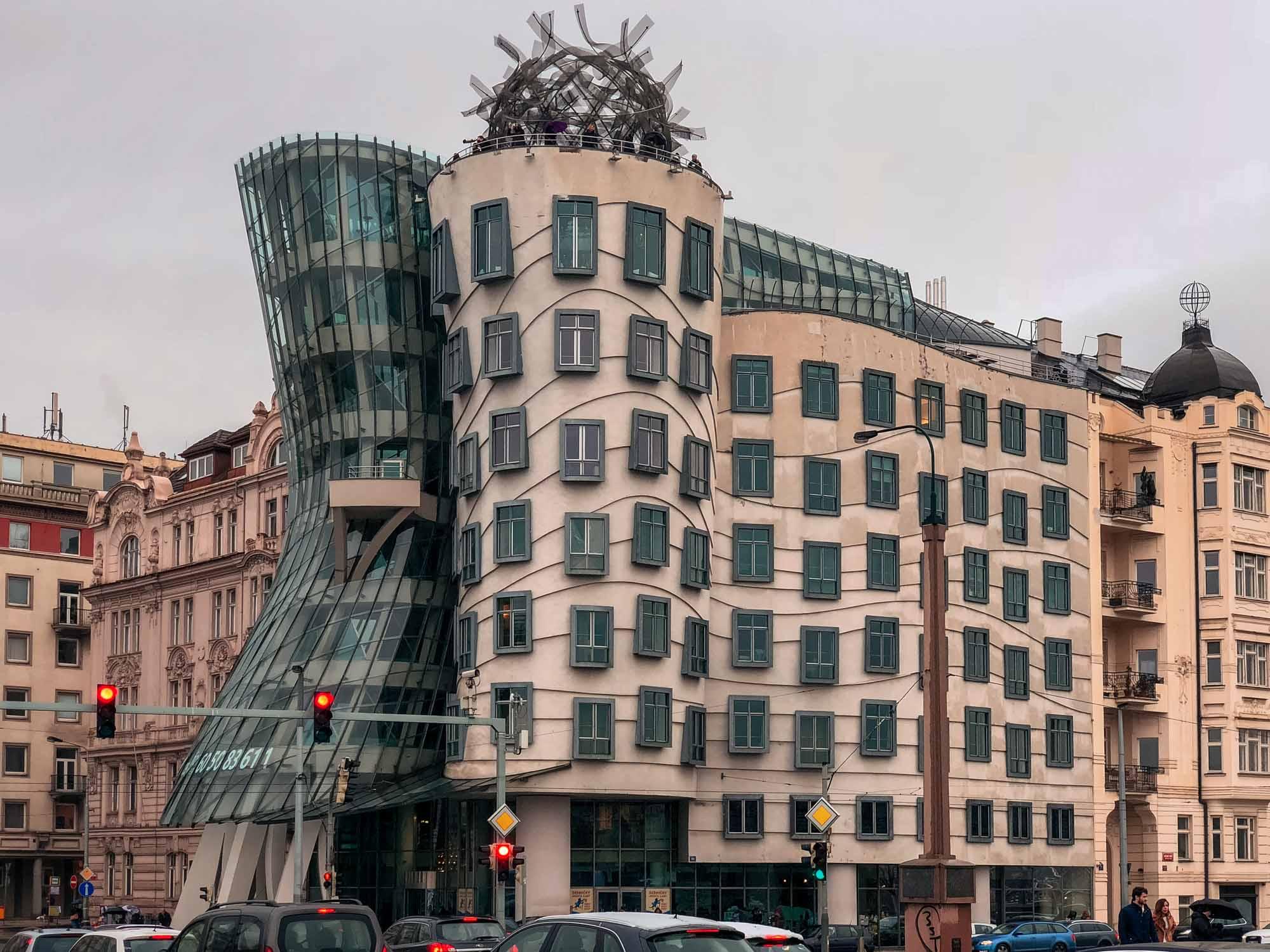 La Maison Dansante (Dancing House) à Prague