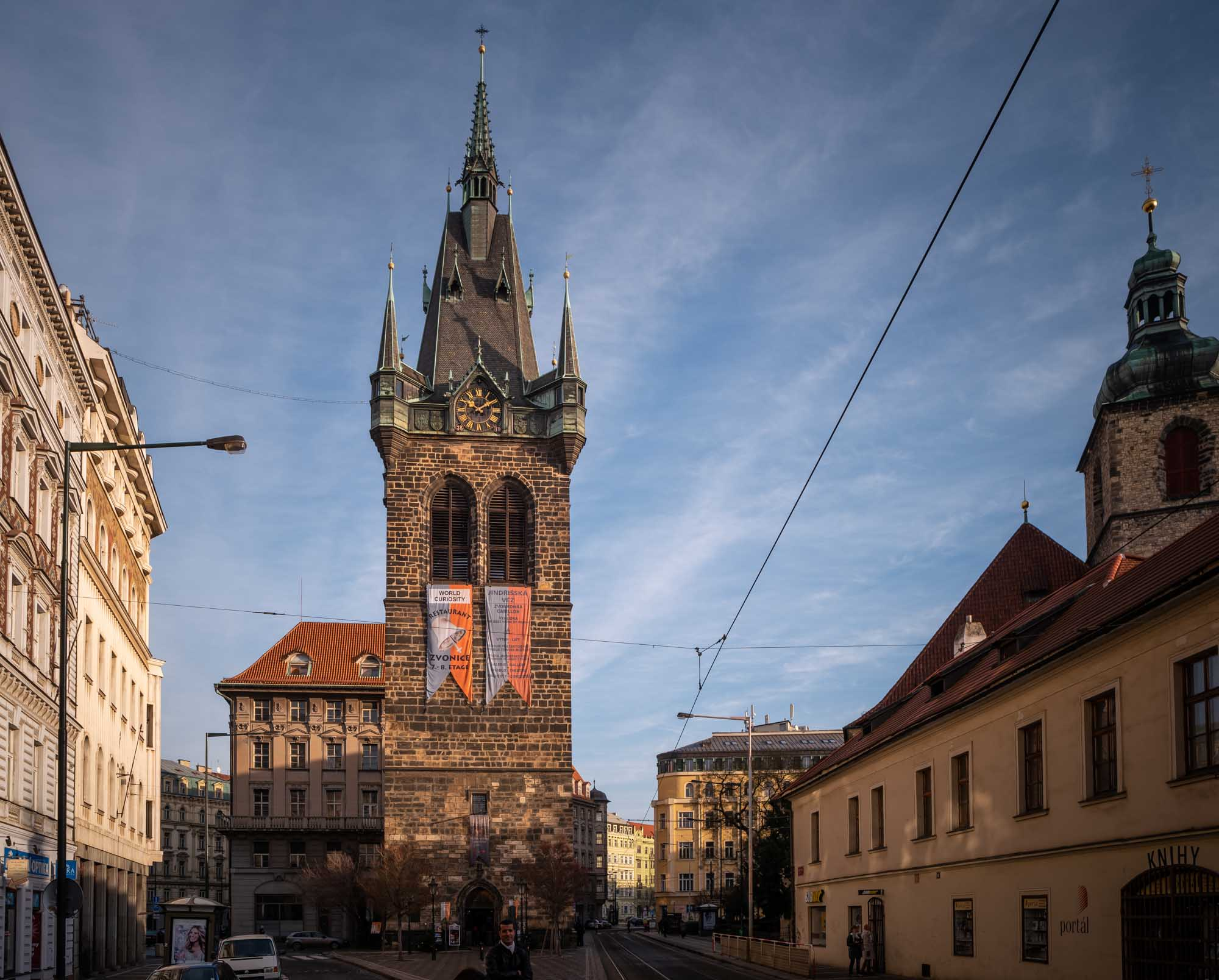 La Tour Henri à Prague