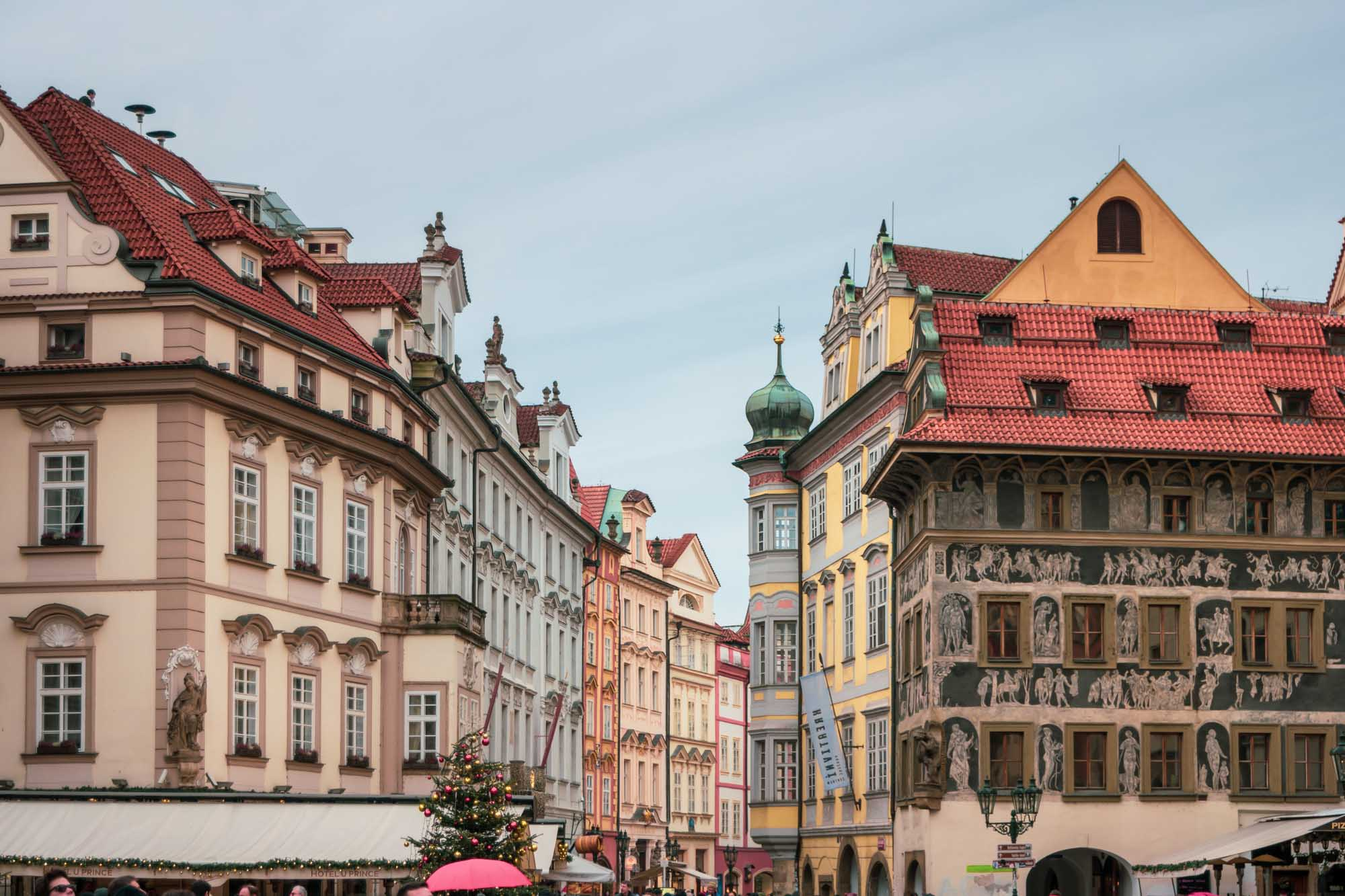 La place de la Vieille Ville à Prague