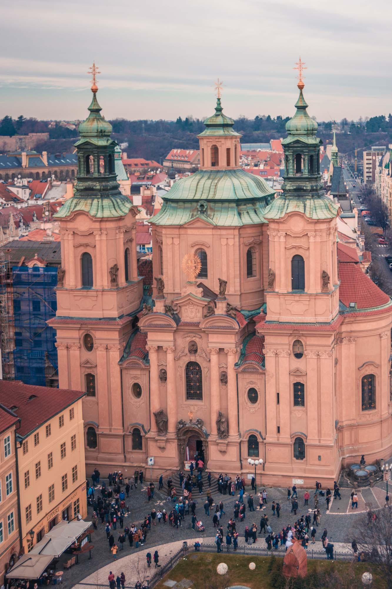 L'église Saint-Nicolas de Prague