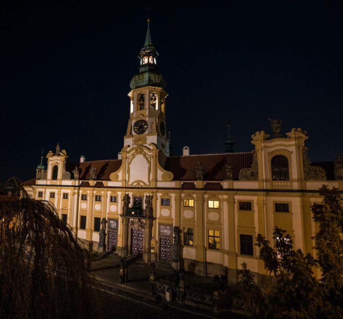 Le sanctuaire Notre-Dame-de-Lorette à Prague