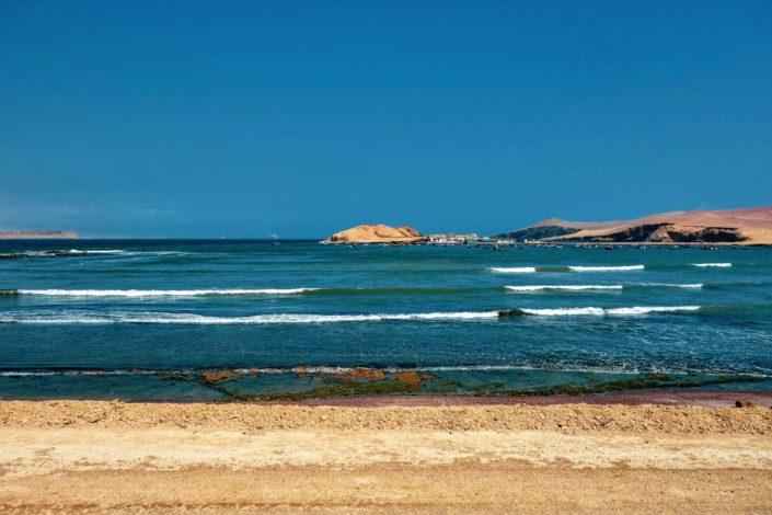 La baie de Lagunillas et ses petits bateaux de pêcheurs