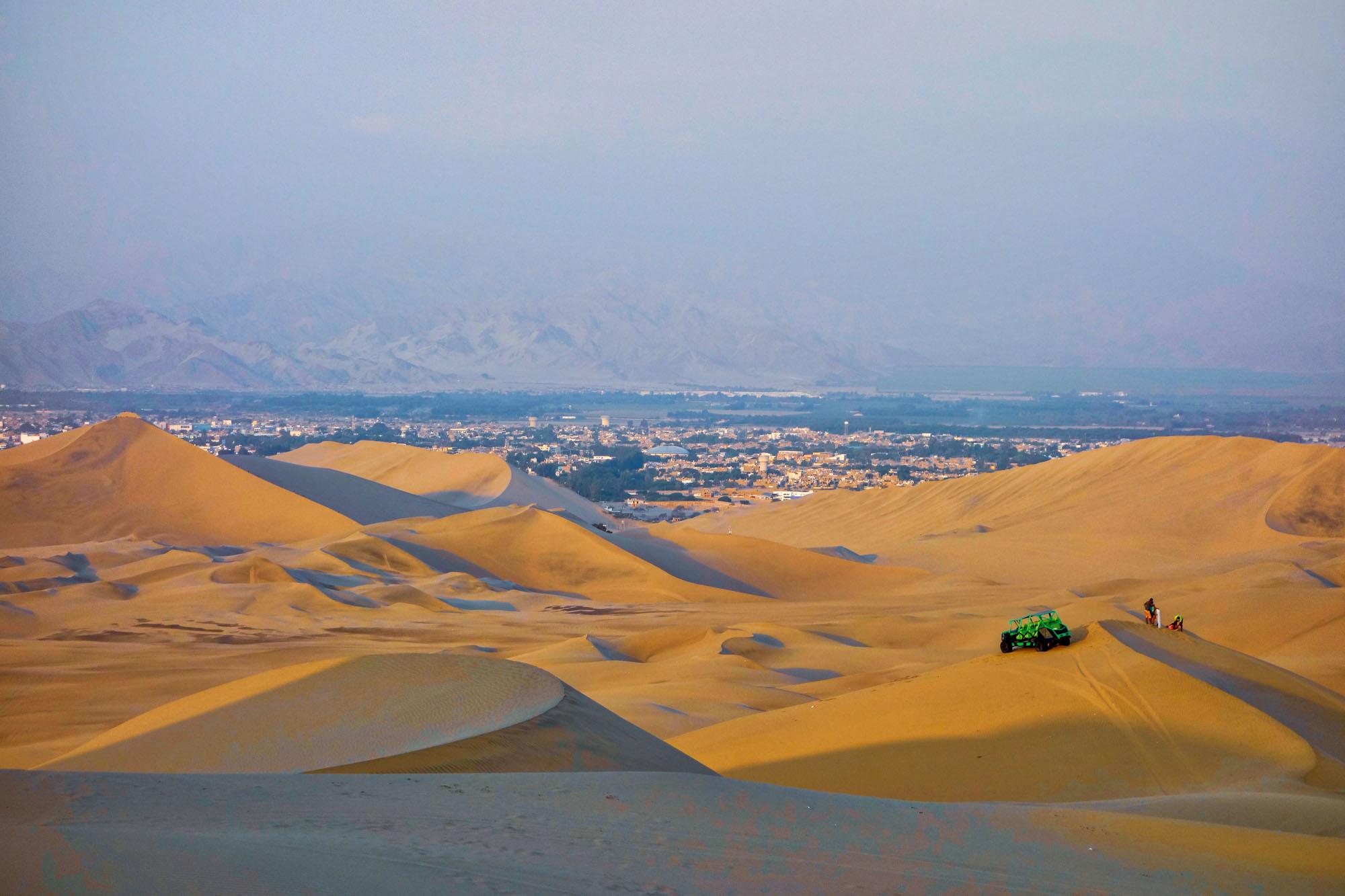 Les dunes de Huacachina - sandboard