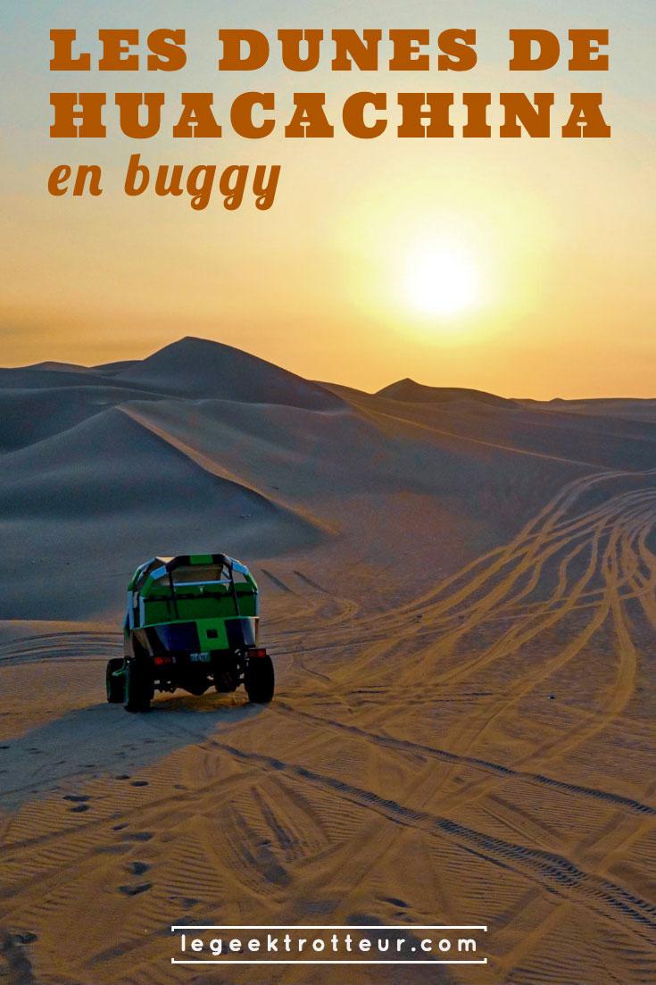 Buggy et sandboard dans les dunes de Huacachina | Le Geek Trotteur