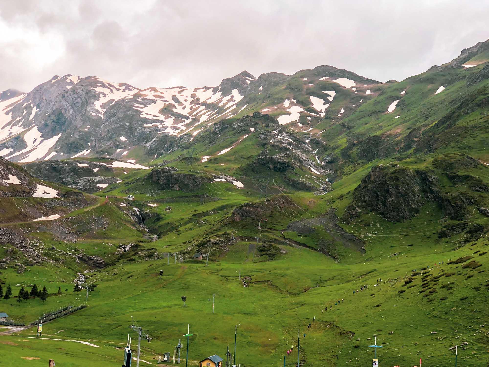 Nous voici à la station de ski de Gavarnie !