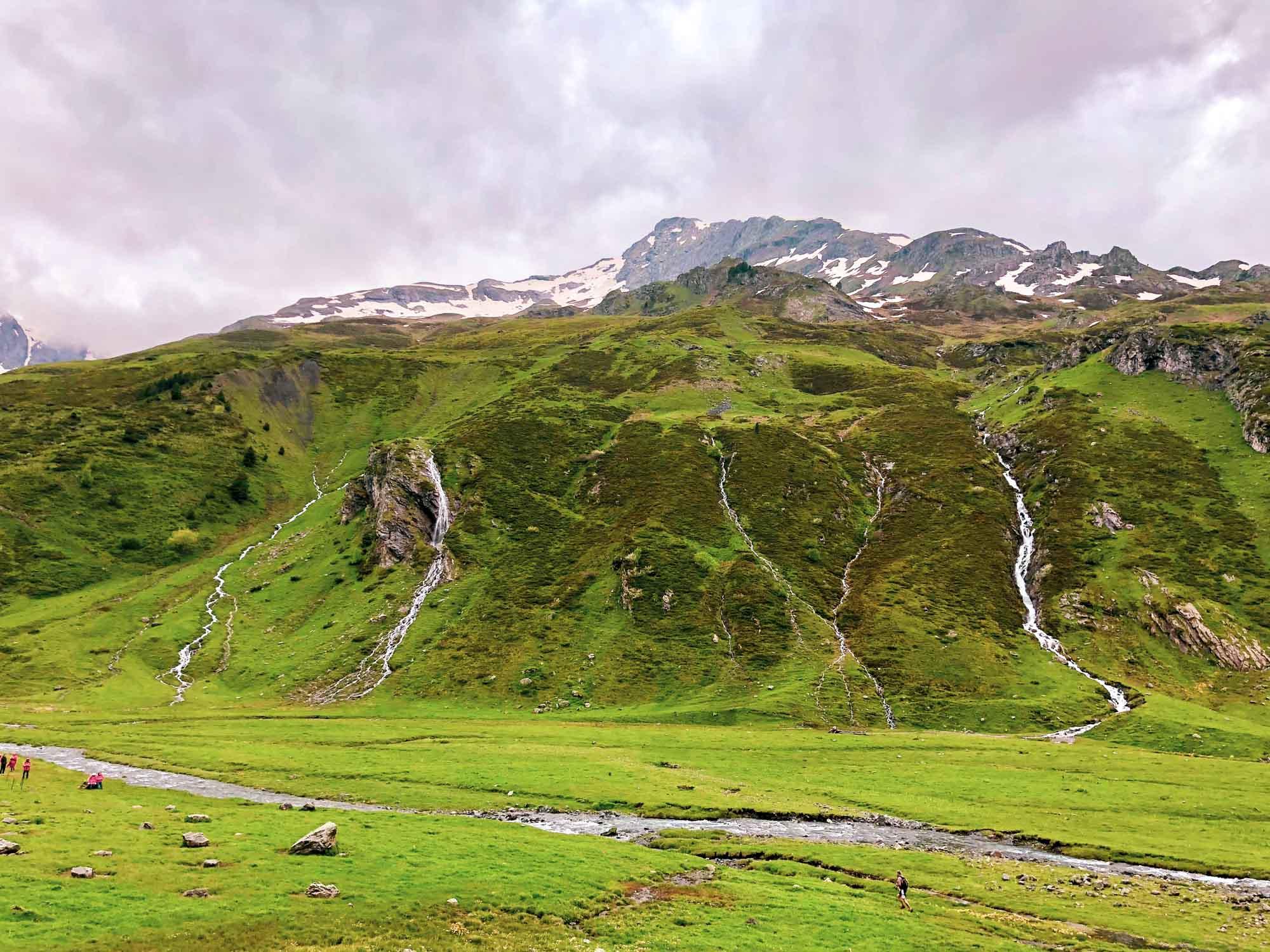 Le plateau de Milhas et ses belles cascades