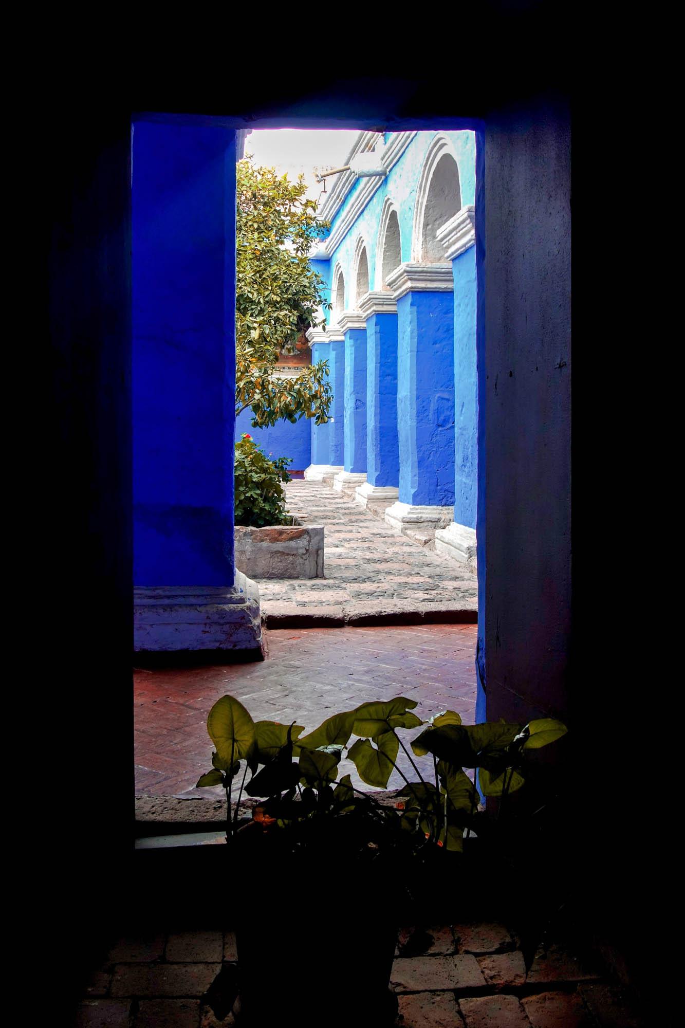 Le couvent Santa Catalina et ses murs colorés
