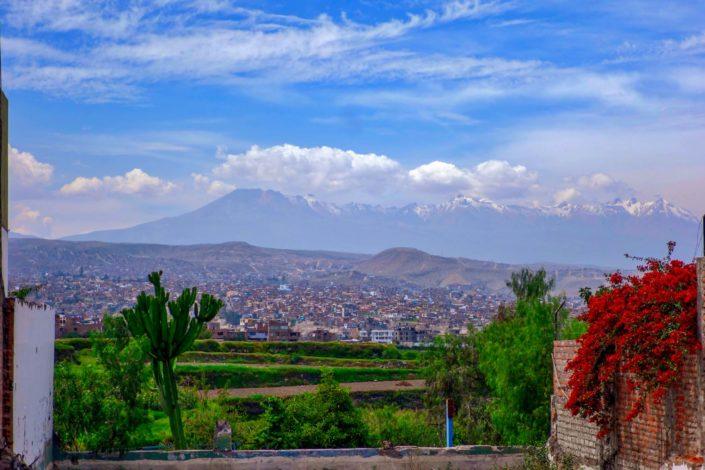 Le quartier de Cayma à Arequipa