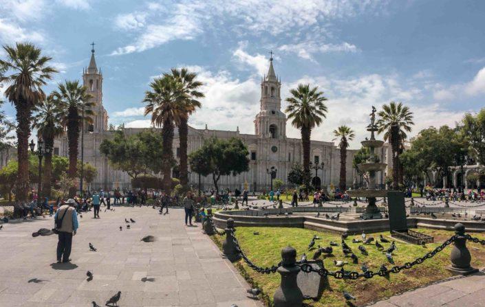 Découverte d'Arequipa, la ville blanche