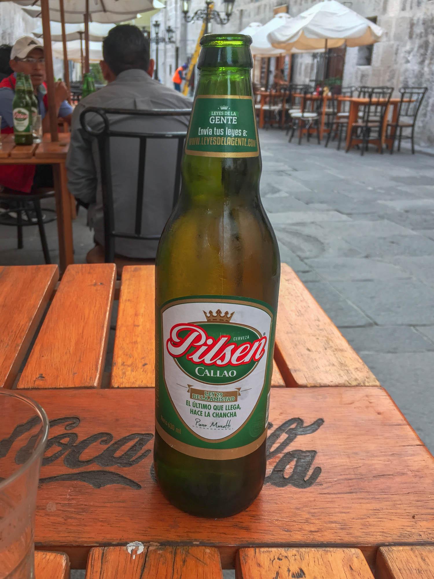 62,5 cl de rafraîchissement - bière Pilsen