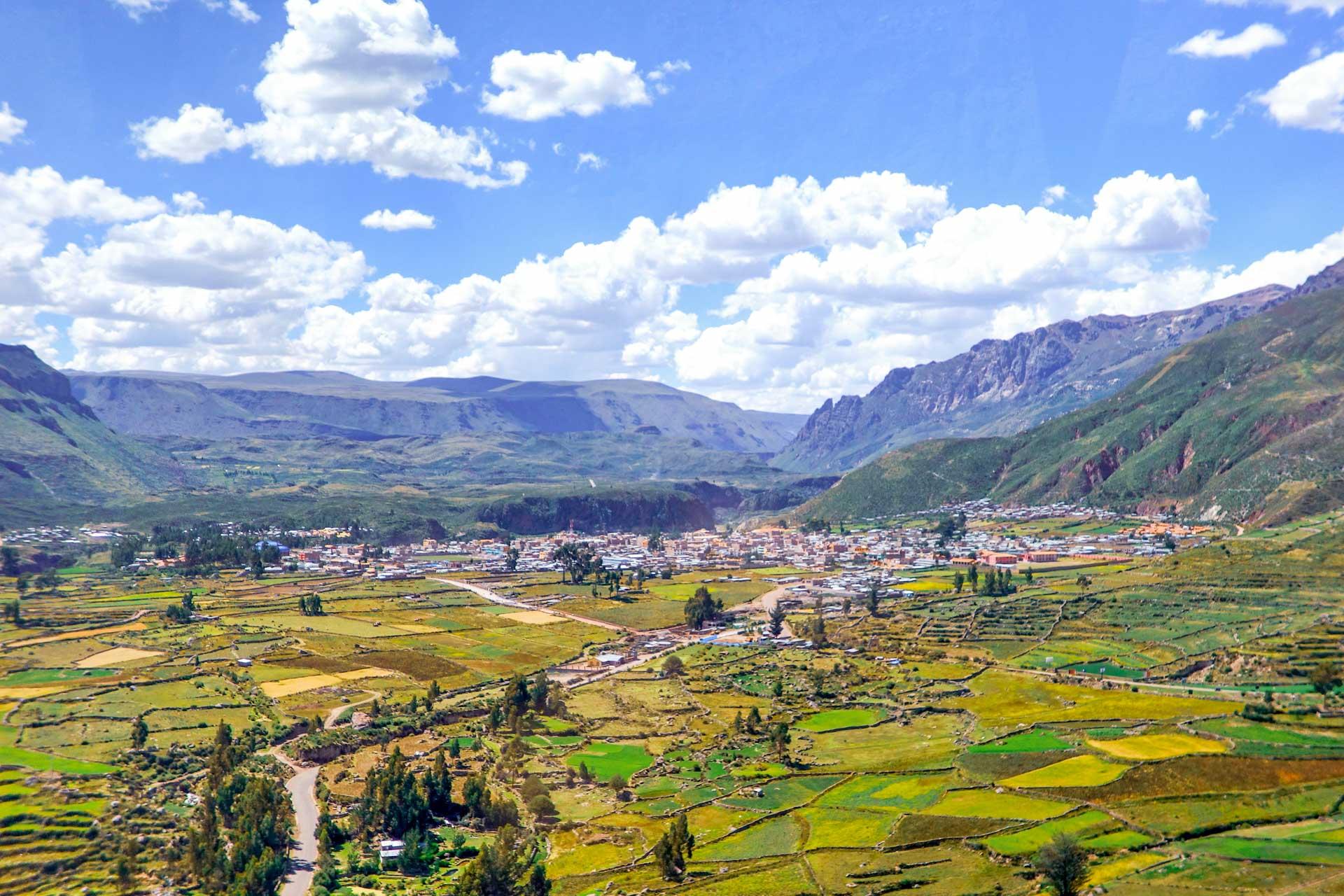 le village de Chivay
