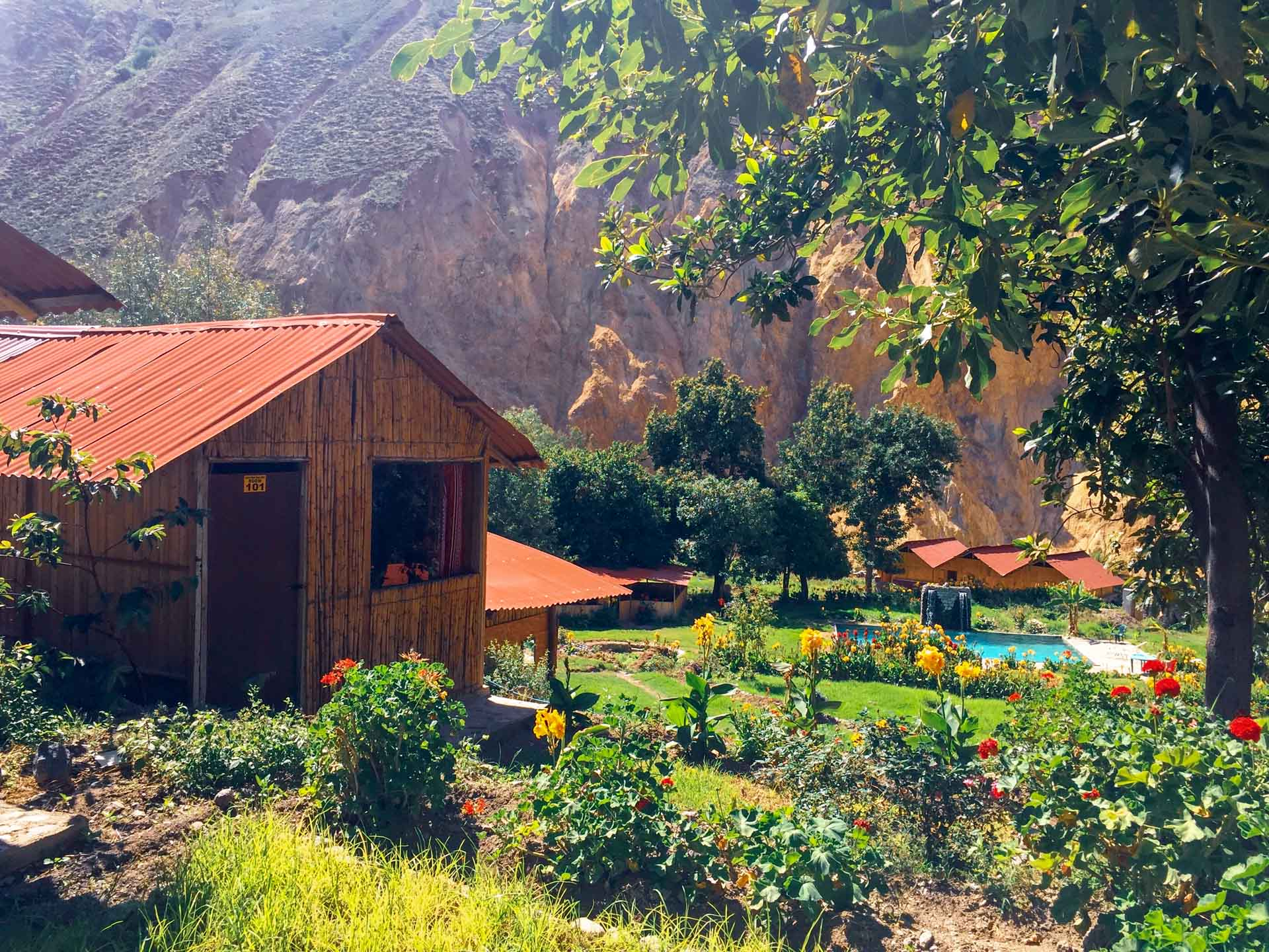 l'oasis de Sangalle