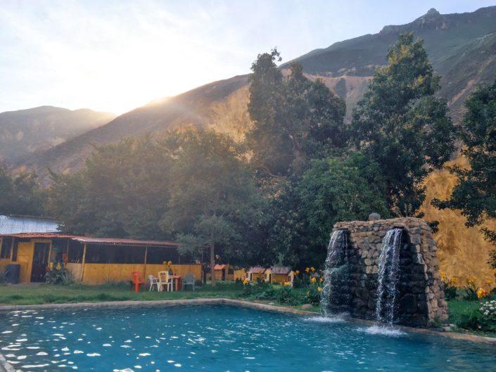 Piscine de l'oasis de Sangalle
