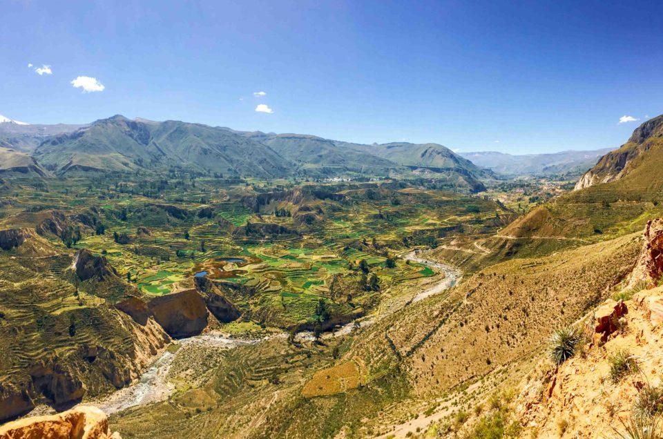 Mini trek dans le Canyon de Colca