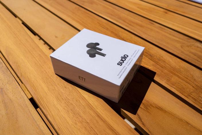 Packaging boîte des écouteurs Sudio ETT