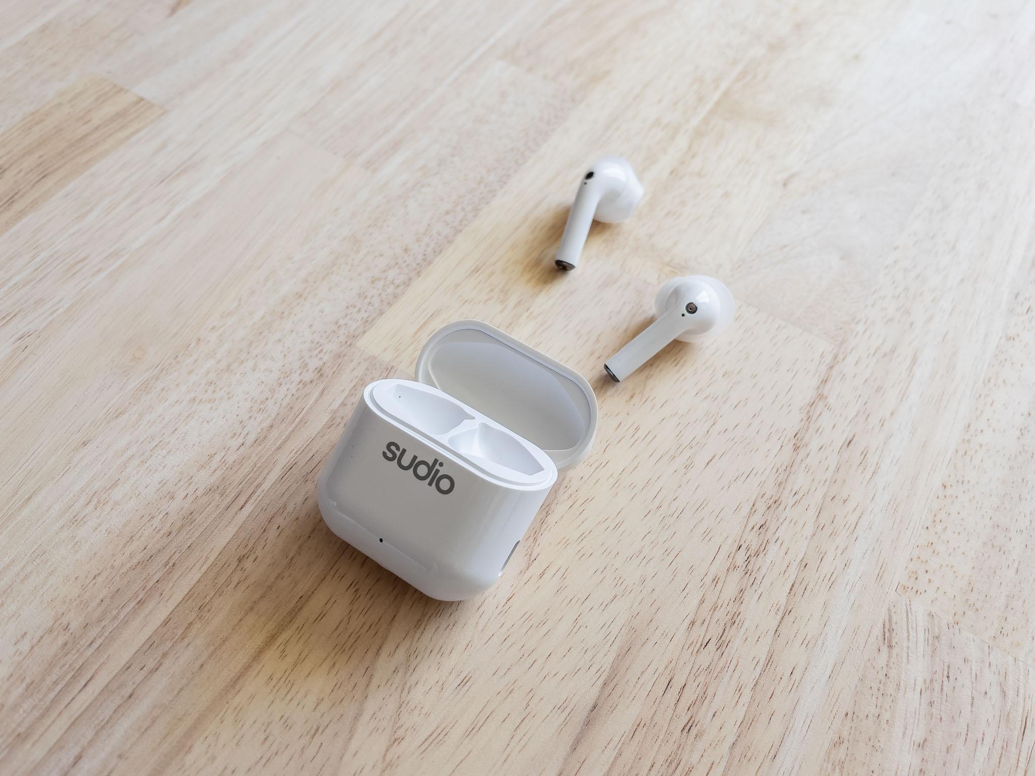 Écouteurs Sudio Nio blancs