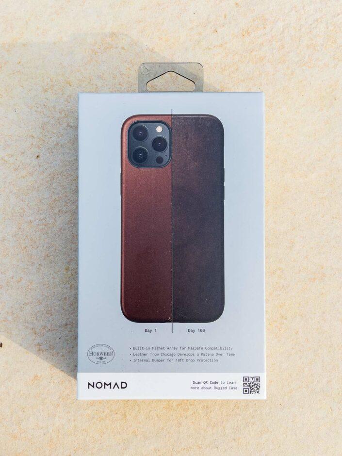 Patine coque Nomad iPhone 12 Pro Max
